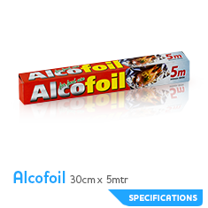 CR alcofoil 30x5