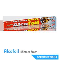CR alcofoil 45x5