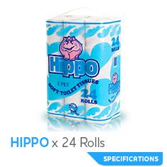 CR hippo 24roll
